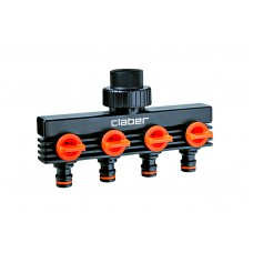 Claber 4 Way Water Distributor Tap Extensions