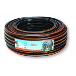 Claber 0.75 inch Top Black Potable Water Hose Potable and Reinforced Hose