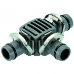Gardena Tee-Joint 13mm 1/2 inch  Pack Of 2   8329-20 Gardena Micro Drip System Fittings