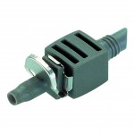 Gardena Connector 4.6mm (3/16 inch) - Single Gardena Micro Drip System Fittings