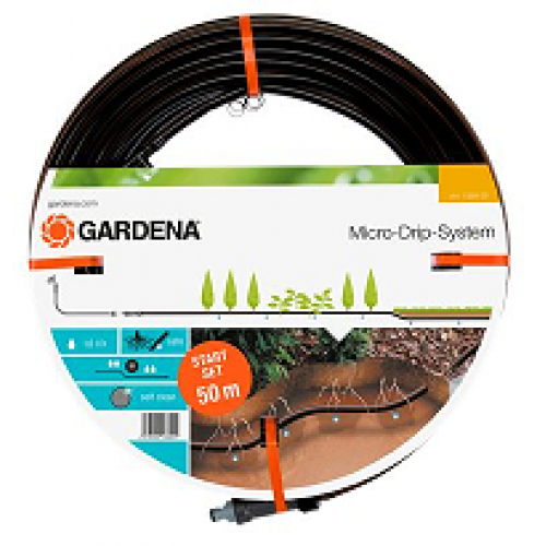 gardena below and above ground drip irrigation line 50m 1389 20. Black Bedroom Furniture Sets. Home Design Ideas
