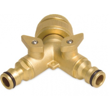 Brass Twin Tap Tap Extensions