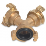 Geeka Style Brass Quick Y Connector Brass Hose Fittings