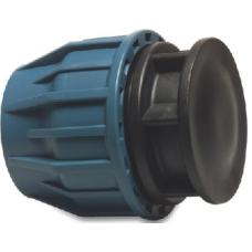 Compression End Cap Water Distribution and MDPE Fittings