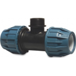 Equal Tee Compression Male Branch Water Distribution and MDPE Fittings