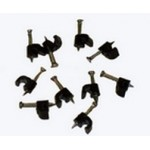 Pipe Clips 5mm Black Pack of 10