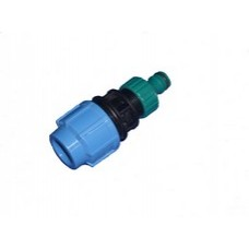 Compression Adapter To Hose Water Distribution and MDPE Fittings