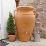 Helena Terracotta 300 Litre Water Butt Rainwater Harvesting