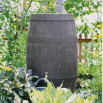 Barrique Barrel Wood Effect Water Butt Rainwater Harvesting