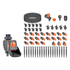 Claber Timer Kit with 20 Logica 90766 drip irrigation containers
