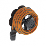 Springy 25m 9335 Claber - Extendable Irrigation Hose Garden Hose Trolleys