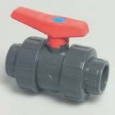 PVC Solvent Weld Double Union Ball Valve