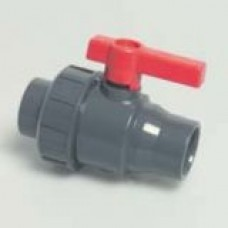 PVC Solvent Weld Ball Valve Single Union