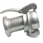 Bauer Type S82 Galvanised Female Male Enlarger  Bauer Type Fittings