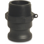 Camlock M Part with Male Thread Type F Camlock Polypropylene Couplings