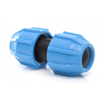 63mm Polyfast MDPE Compression Coupler