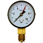 0 to 10 Bar Dry Pressure Gauge Bottom Entry Pressure Switch and Pressure Gauge