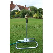 Metal Skid with 30cm Steel Riser- Brass Sprinkler Garden Sprinklers