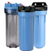 Plastic Water Filter Housings and Spares