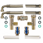 22mm Flexible Hiflow Fitting Kit Water Softener Spares